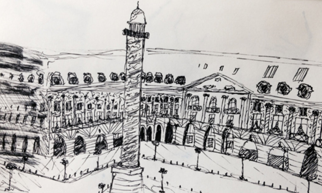 berenice beaube dessins paris