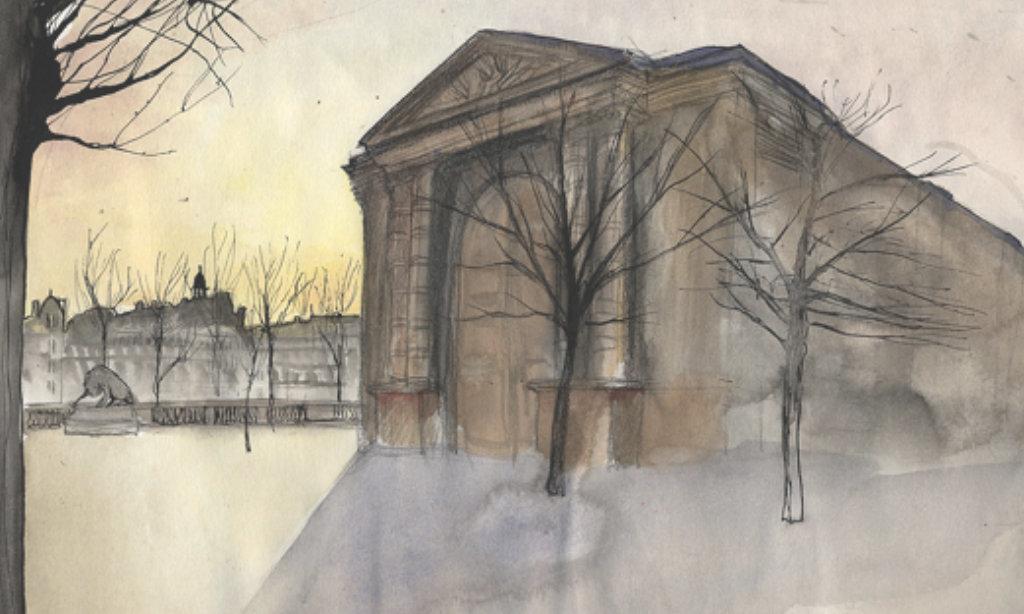 justine gasquet paris illustration