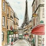 La Tour Eiffel par Sophie Rocher