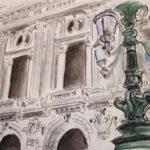 L'Opéra Garnier par Ann Abel Iseux