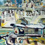 Péniches au pied du Pont Neuf par Damien Bartolo