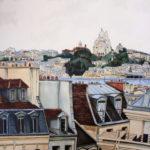 Les toits de Paris par Julien Dugué