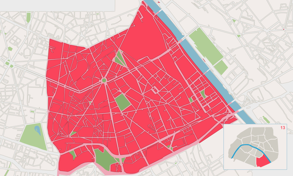13e arrondissement paris