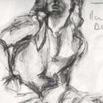 Crayonné des captifs par Claudia Gauthier