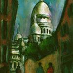 Le Sacré Coeur à Montmartre par Claude Garcia