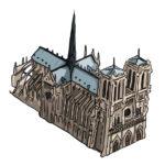 Notre Dame de Paris par Julien Dugué