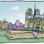 Chevet de Notre Dame par Julien Dugué