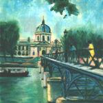 L'institut au Pont des Arts par Claude Garcia