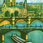 La seine au Pont des Arts par Claude Garcia
