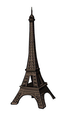 illustration tour eiffel