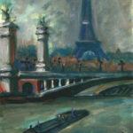 La Tour Eiffel au pont Alexandre III par Claude Garcia