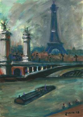peinture pont alexandre 3