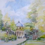Allée du parc Monceau par Denis Hooreman