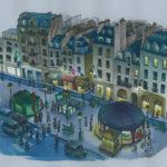 Place Saint Paul par Jean-Martial Dubois