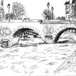 Pont Saint-Michel par Damien Bartolo