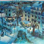 Dessin de la rue Utrillo par Jean-Martial Dubois