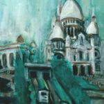 Le funiculaire de Montmartre par Claude Garcia