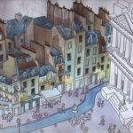 Etude de la rue du Jour par Jean-Martial Dubois