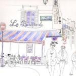 Café Bonaparte par Denis Hooreman