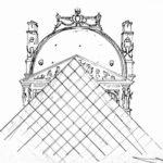 Pyramide du Louvre par Adrien Berger