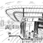 Musée d'Orsay dessin par Kasia Nowak