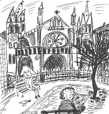 eglise st ambroise dessin