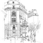 Boulevard de Courcelles par Denis Hooreman