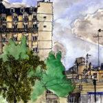 St Ambroise et le Boulevard Voltaire par Chloé Roux