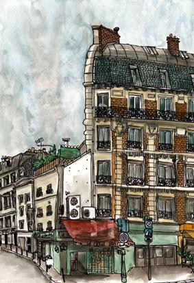 rue de charenton dessin