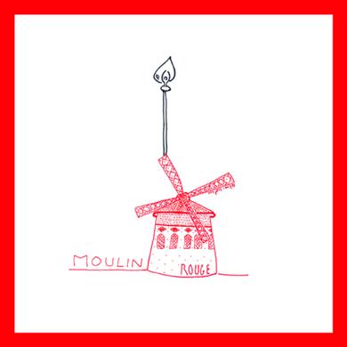 moulin rouge illustration