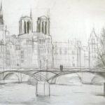 Pont des Arts par Magdalena Gatialova