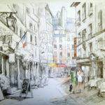 Rue Montorgueil par Magdalena Gatialova