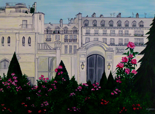jardin musée peinture