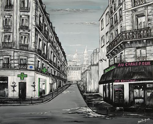 rue ordener peinture paris