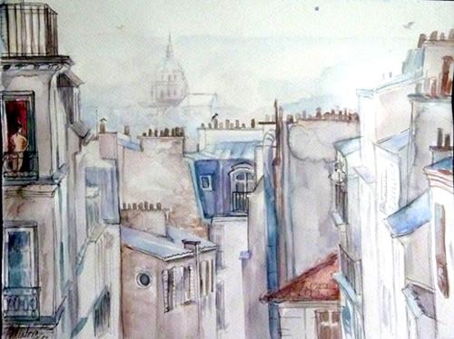 peinture pantheon