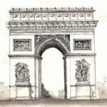 Arc de Triomphe par Violette Cordeau