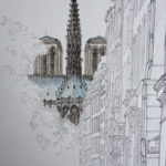 Chevet de Notre-Dame par Adrien Berger