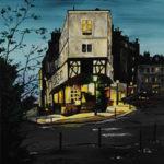 Peinture rue des Abbesses par Dagmar Gerlach