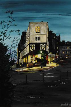 rue des abbesses peinture