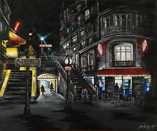metro lamarck caulaincourt