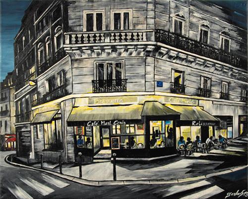 rue mont cenis peinture