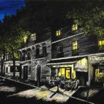Rue Caulaincourt la nuit par Dagmar Gerlach
