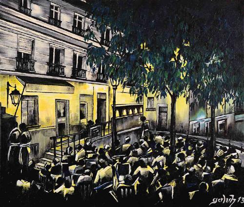 rue ravignon peinture