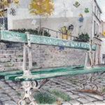 Banc public par Catherine et Antoine