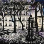 Place Emile Goudeau par Dagmar Gerlach