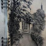 Croquis maison Balzac par Anna Kunsteková