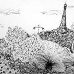 Croquis Tour Eiffel par Bérénice Beaube