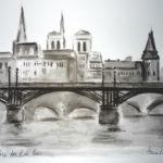 Pont des Arts par Anna Kunsteková