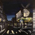 Peinture du Moulin de la Galette par Dagmar Gerlach