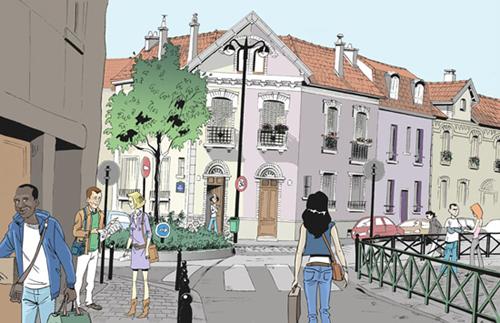 rue damesme dessin